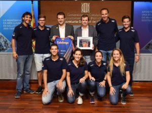 La selecció catalana de beach tennis assoleix el títol mundial a Castelldefels