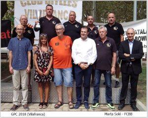 El Club de Bitlles Vall-llobrega revalida el títol de campió del X Gran Premi Catalunya de bitlles catalanes