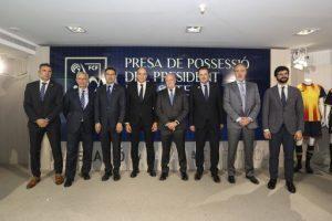 Joan Soteras pren possessió com a president de la Federació Catalana de Futbol