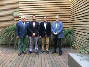 La Secretaria General de l'Esport signa un conveni de col·laboració amb la Federació Espanyola de Tennis Taula