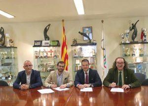Signat el protocol de col·laboració per a l'organització del 30è Congrés Mundial de la Federació Internacional d'Educació Física a l'INEFC Barcelona
