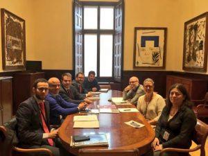 Reunions amb el Grup Parlamentari Republicà i el Grup Parlamentari de Junts per Catalunya per avançar en la nova llei de l'Esport i l'Activitat Física de Catalunya