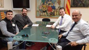 Reunió amb els Ajuntaments de Manresa i Sant Joan de Vilatorrada
