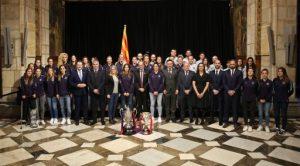 """President Torra: """"Hem de lluitar perquè la igualtat entre homes i dones al món de l'esport sigui una realitat"""""""
