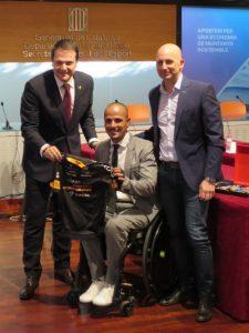 Felicitem la trajectòria del handbiker Sergio Garrote