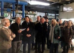 Inaugurada la nova maquinària de refredament de la pista de gel de Puigcerdà