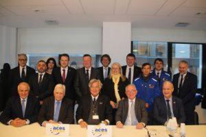 ACES Europe i la Fundació Catalana per a l'Esport signen un conveni de col·laboració per fomentar l'activitat física i l'esport