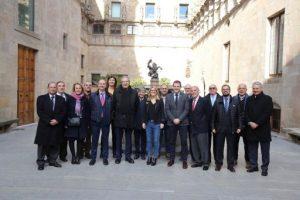 Rebem la Federació Catalana de Basquetbol