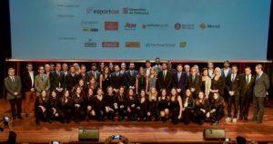 La 22a Festa de l'Esport Català exhibeix el talent esportiu del país, amb Jèssica Vall i Jordi Alba com a millors esportistes del 2018