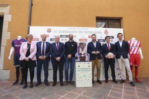 Presentada a Sabadell la IV Supercopa de Catalunya de futbol