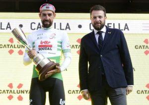 El belga Thomas De Gendt guanya l'etapa a Calella i és el primer líder de la 99a 'Volta' Ciclista a Catalunya