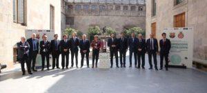El Palau de la Generalitat acull la presentació de la IV Supercopa de Catalunya de futbol