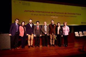 """La lluita contra el sedentarisme, """"enemic número 1 de la salut pública"""", centra la Jornada Internacional de Promoció de l'Activitat Física"""