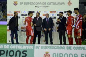 El Girona FC supera el FC Barcelona i guanya per primera vegada la Supercopa de Catalunya de futbol