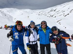 Baqueira Beret acull una espectacular prova de la Copa del Món FIS de surf de neu cros