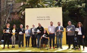 La Generalitat anima la ciutadania a celebrar el Dia Mundial de l'Activitat Física 2019 per promoure l'activitat física com a eina de salut i benestar