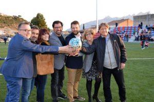 Jornada de portes obertes al nou camp de futbol de Sant Vicenç de Castellet