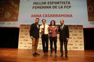 La Federació Catalana de Patinatge escull Pere Marsinyach i Anna Casarramona com els millors esportistes del 2018