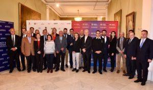 La Secretaria General de l'Esport i de l'Activitat Física i el Consolat d'Hongria homenatgen l'exjugador del Barça Sándor Kocsis