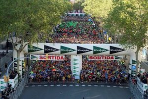 46.283 participants omplen Barcelona d'esport i solidaritat en la 41a Cursa El Corte Inglés