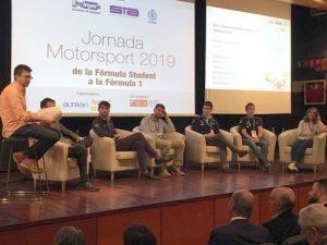 """La jornada """"De la Fórmula Student a la Fórmula 1"""" acosta els secrets de la màxima disciplina de l'automobilisme a estudiants d'enginyeria"""