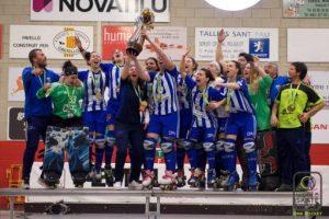 El Voltregà supera el Palau de Plegamans i guanya per sisena vegada la Copa d'Europa femenina d'hoquei sobre patins
