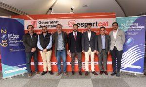Presentats a Barcelona els Campionats del Món de Piragüisme d'aigües braves del 2019 Sort-La Seu d'Urgell