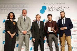 Marc Márquez, Rosalía i Jordi Alumà, guardonats amb els premis Sport Cultura Barcelona 2018
