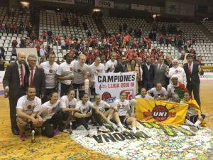 L'Spar Citylift Girona guanya per segon cop la Lliga Femenina de bàsquet