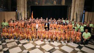 El president Torra felicita les medalles obtingudes per les seleccions catalanes de bàsquet de formació en els campionats estatals