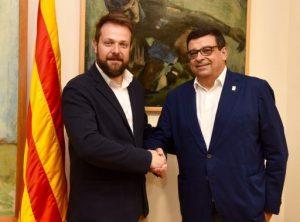 Rebo el nou president de la Federació Catalana de Basquetbol