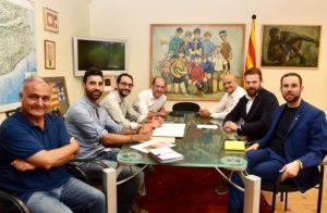 Em reuneixo amb l'alcalde de Torrelles de Llobregat