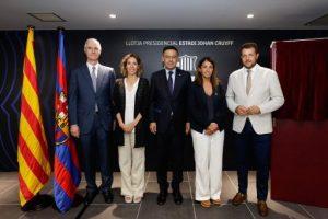 El FC Barcelona inaugura l'Estadi Johan Cruyff a Sant Joan Despí