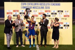 El FC Barcelona revalida el títol de la Copa Catalunya Femenina de futbol i el Parets s'estrena en la Copa Amateur Masculina