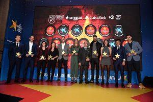 El futbol català viu una altra emocionant vetllada amb la celebració de la 8a Gala de les Estrelles
