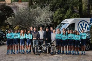 Visito la primera concentració del 2020 del Massi-Tactic UCI Women's Team