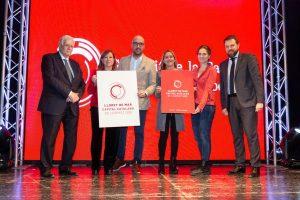 Calella passa el relleu a Lloret de Mar com a Capital Catalana de l'Esport en una emotiva gala plena de reconeixements
