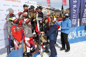 Itàlia conquereix el paral·lel per equips mixtos que tanca l'OPA Cup U16 de Baqueira Beret