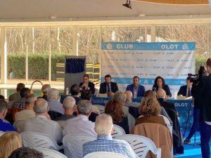 El Club Natació Olot inaugura les instal·lacions de la primera fase de la reforma i ampliació