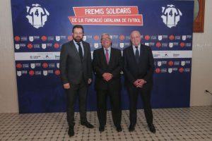 Els IV Premis Solidaris de la Fundació de la Federació Catalana de Futbol reconeixen la solidaritat de clubs, futbolistes i persones vinculades a aquest esport