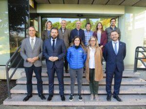 Trobada de la Secretaria General de l'Esport i de l'Activitat Física amb l'Ajuntament de Ribes de Freser