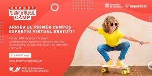 La SGEAF, la UFEC i les federacions esportives posen en marxa un campus virtual esportiu gratuït per a joves d'entre 6 i 14 anys