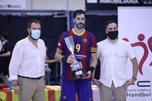 KH-7 BM Granollers, en noies, i FC Barcelona, en nois, guanyen la Supercopa de Catalunya d'handbol