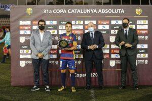 El CE l'Hospitalet es proclama campió de la XXXI Copa Catalunya de futbol a Terrassa davant la UE Llagostera