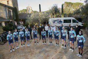 Presentat el Massi-Tactic amb l'equip de corredores més internacional en el tercer any a l'elit ciclista