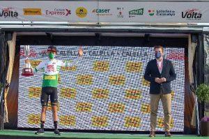 El jove danès Thomas Andreas Kron guanya la primera etapa a Calella i és el primer líder de la 100a Volta Ciclista a Catalunya
